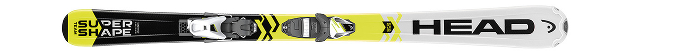 Supershape Team SLR 2 White/Yellow/Black + SLR 7.5 AC (117-157)